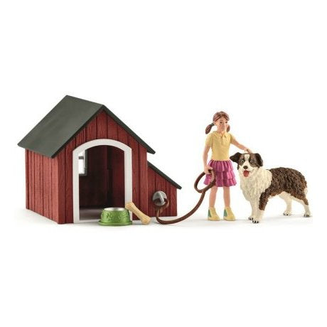 Schleich 42376 Dog Kennel set