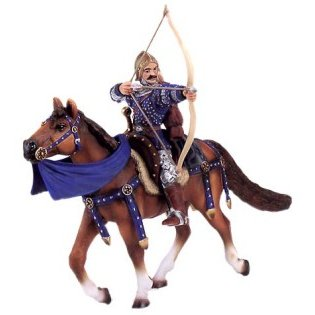 Schleich 70031 Archer on Horseback (Blue)