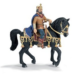 Schleich 70049 King on Horseback