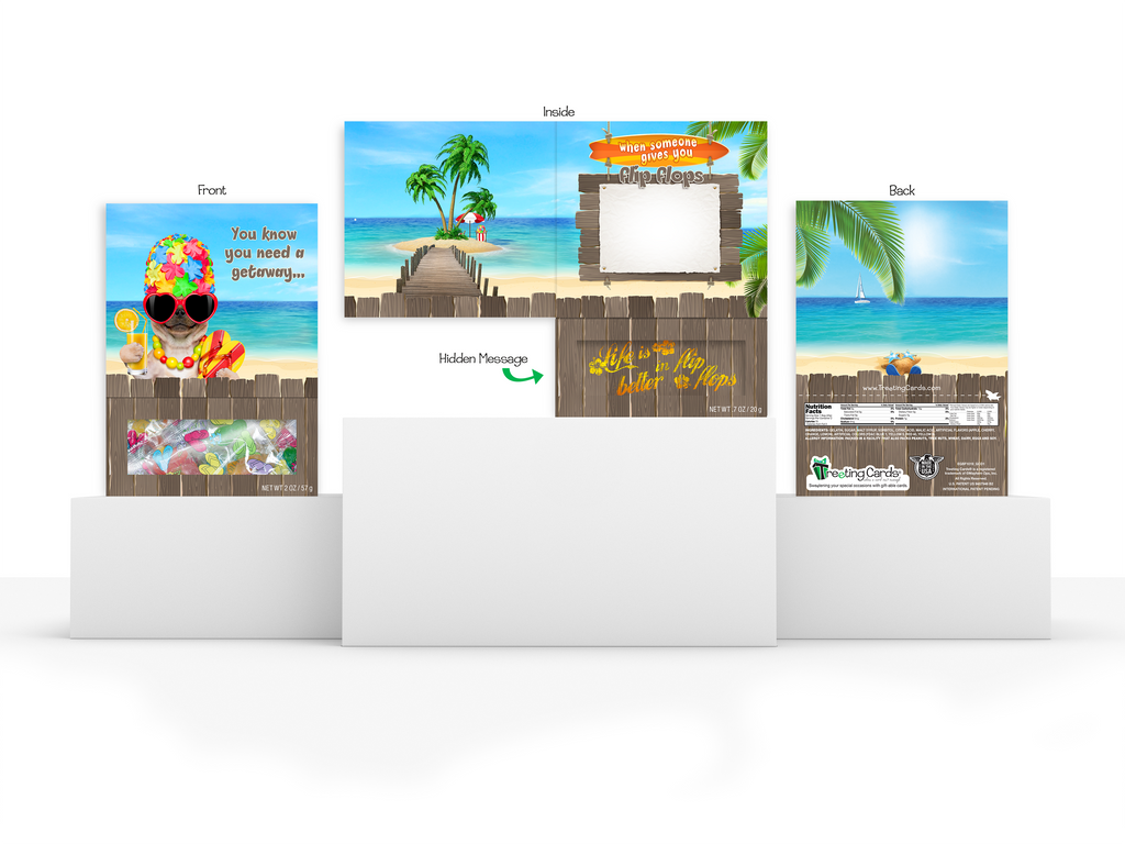 e71ac2623 Friendship Greeting Card - You know you need a Vacation