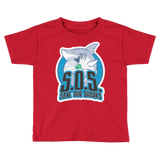 S.O.S. Save Our Sharks Toddlers S/S Tee