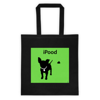 iPood Tote Bag Cotton Canvas Tote Bag 6 oz