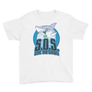 S.O.S. Save Our Sharks Kids S/S Tee