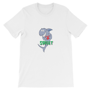 Sweet Shark Unisex Cotton S/S Tee