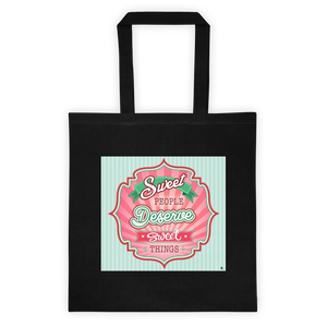 Sweet People Cotton Canvas Tote Bag 6 oz