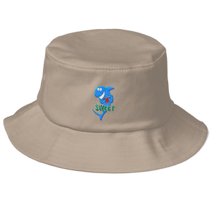 Sweet Shark Old School Bucket Hat