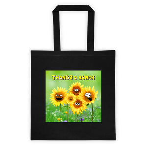 Bunches of Thanks Cotton Canvas Tote Bag 6 oz