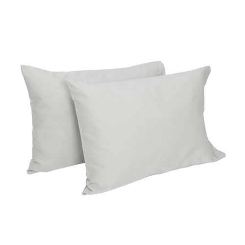 Cotton Toddler Pillowcases 2 PK - Gray