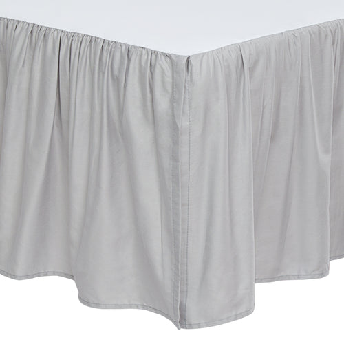 Cotton Crib Bed Skirt Dust Ruffle - 5 Colors