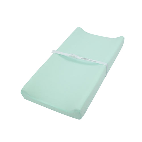 Jersey Knit Changing Pad Cover - Light Green