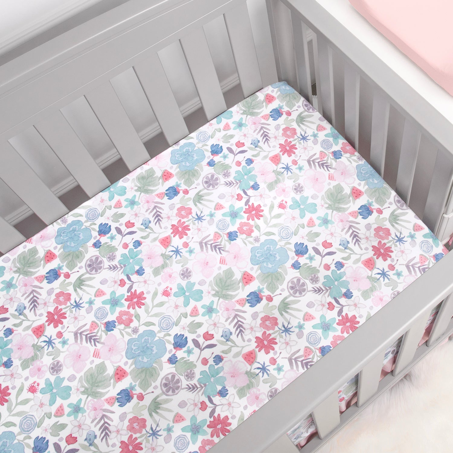 OUT OF STOCK - Luxury Microfleece Crib Sheet - Multicolored