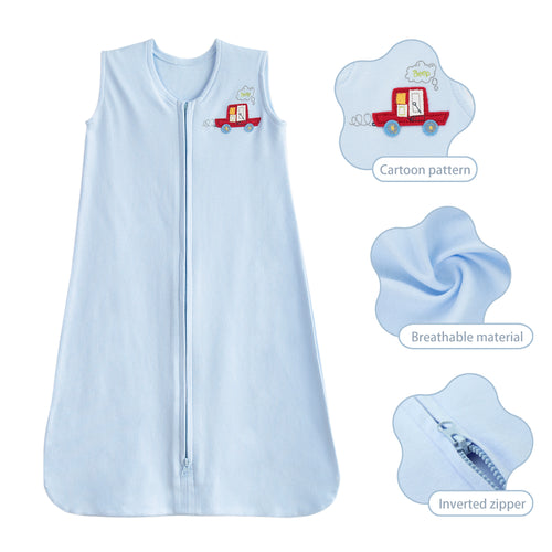Cotton Jersey Sleeping Bag for Baby 6-12 Months