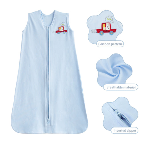 Cotton Jersey Sleeping Bag for Baby 0-6 Months
