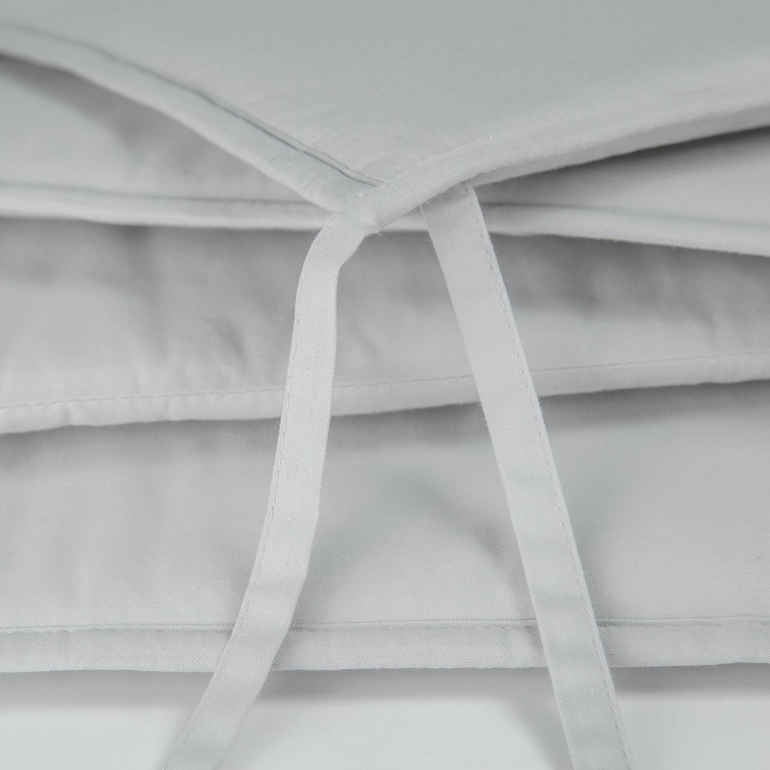 OUT OF STOCK - Cotton Breathable Crib Bumper Pads -Pale Gray