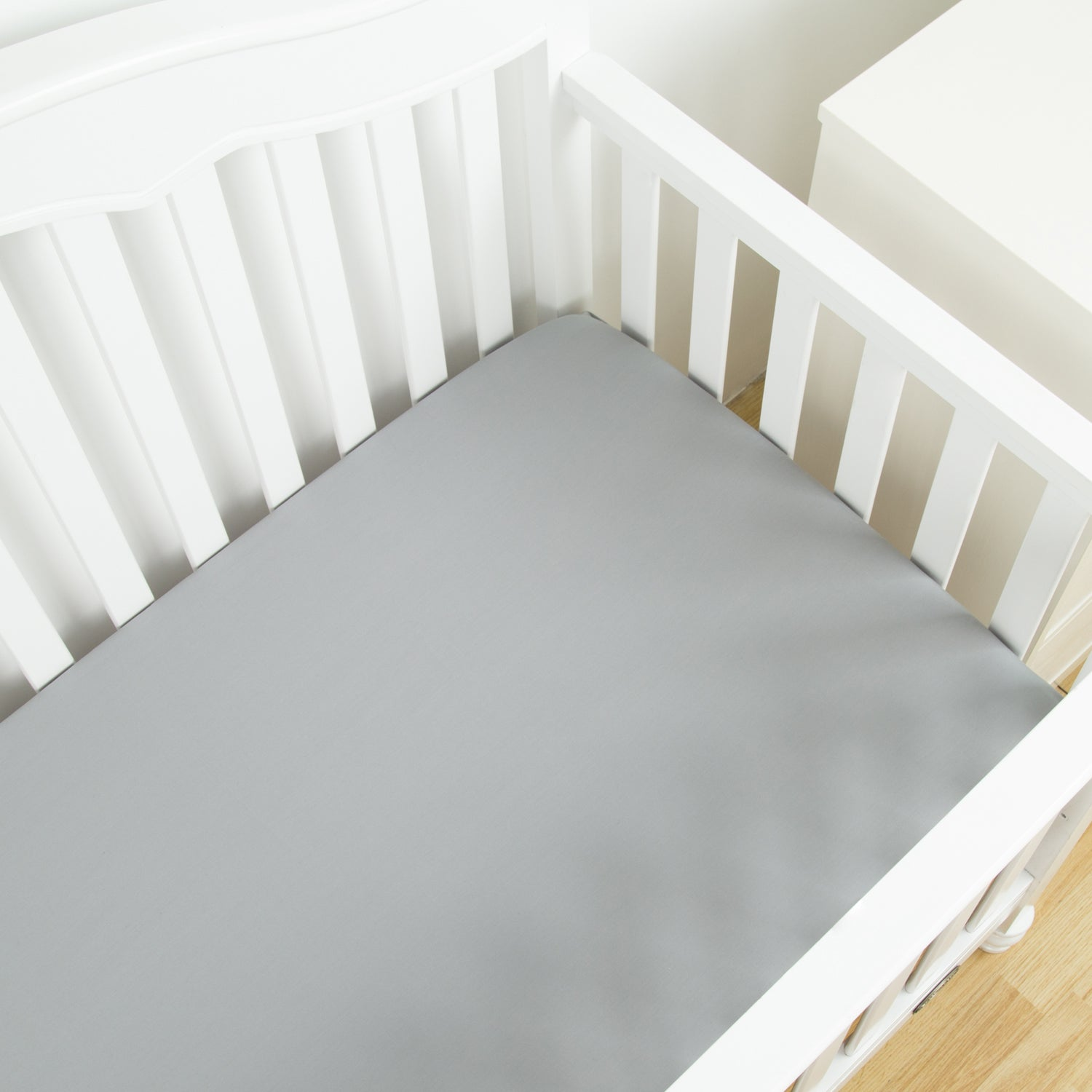 100% Cotton Crib Sheet - 7 Colors
