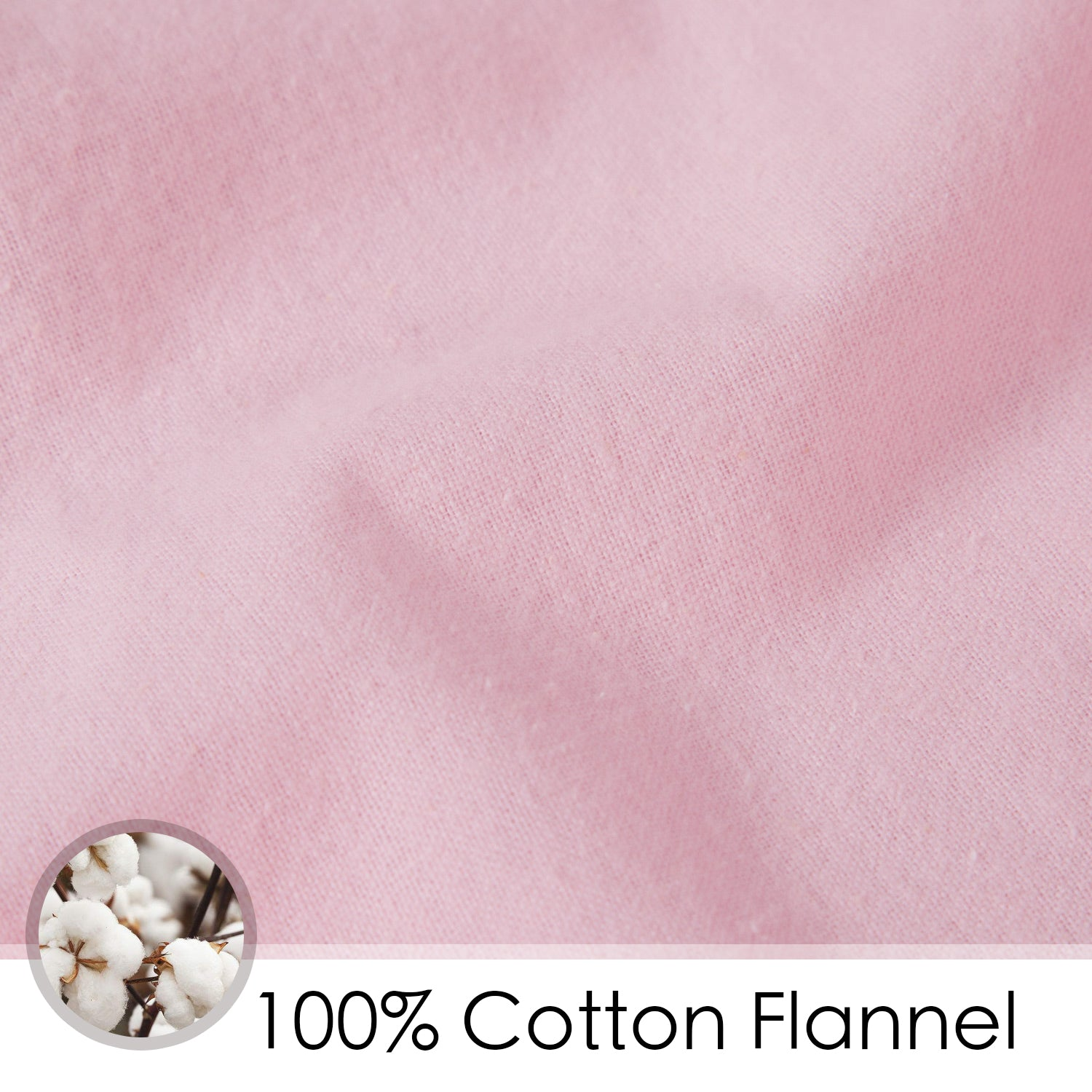Cotton Flannel Crib Sheet - 4 Colors