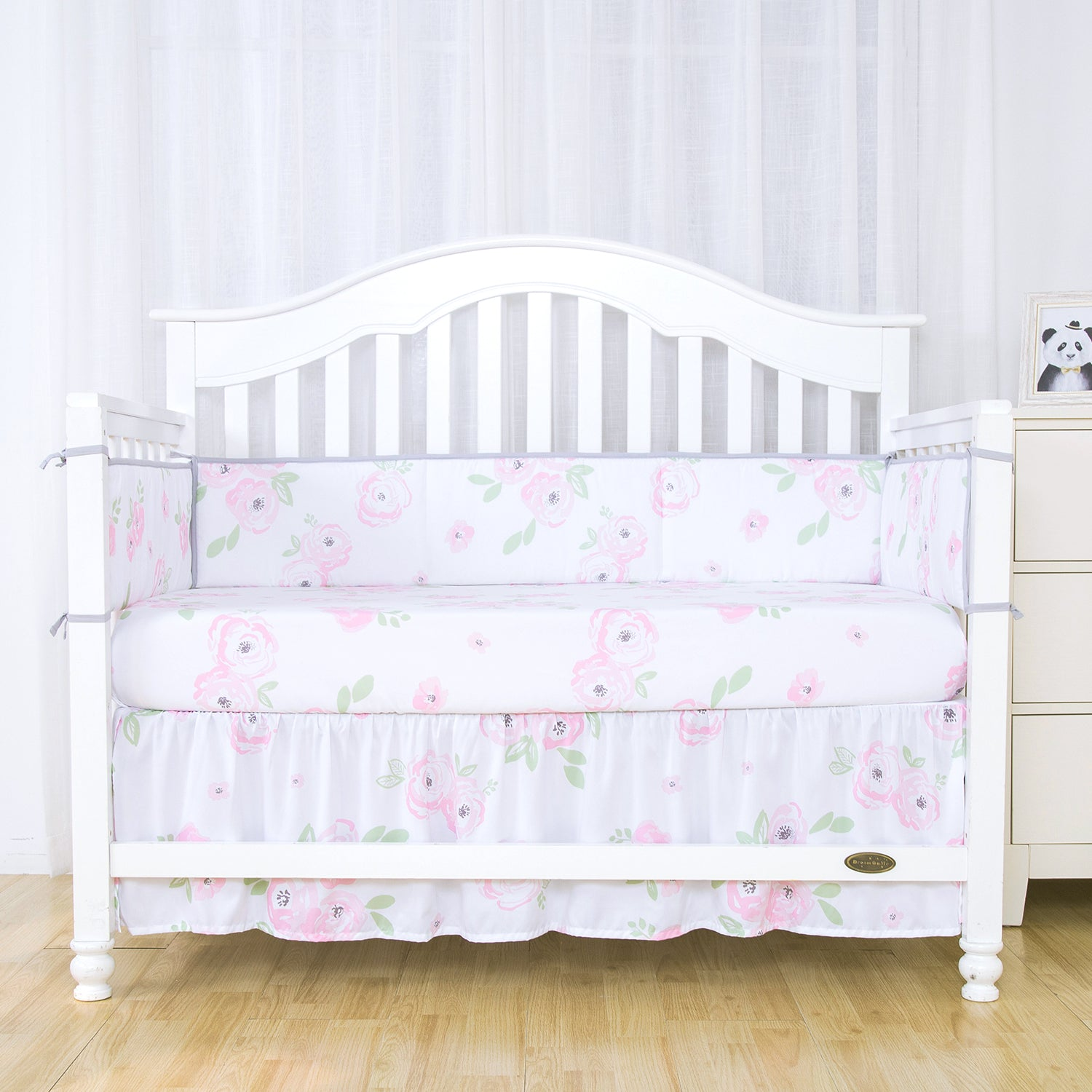 Out Of Stock Microfiber Crib Bed Skirt Dust Ruffle