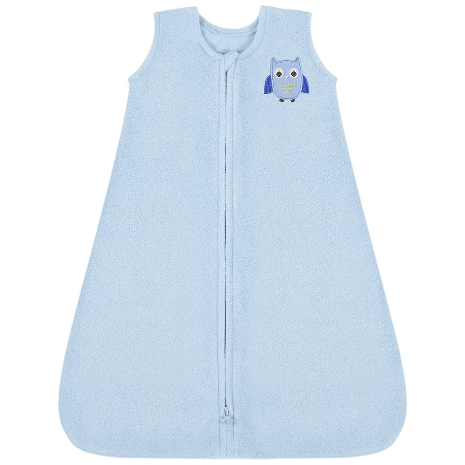 All Season Micro-Fleece Baby Sleep Bag and Sack with Inverted Zipper 12-18 Months