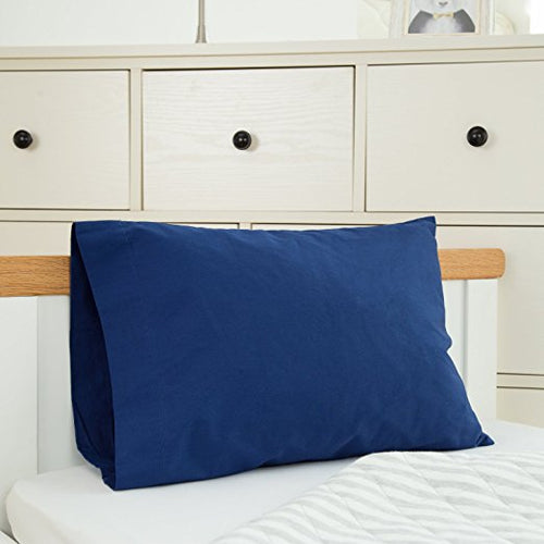 Cotton Toddler Pillowcases 2 PK - Navy