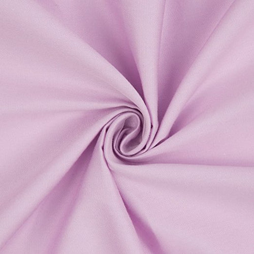 2PK 100% Cotton Crib Sheets - Light Pink & Lavender