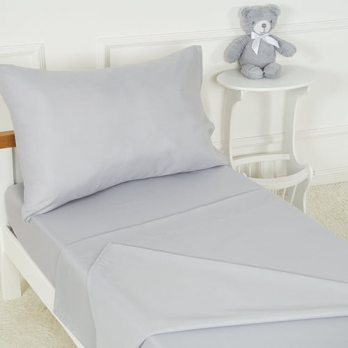 Toddler Microfiber 3-Piece Bedding Set - 4 Colors