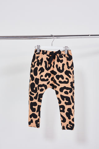 CARTEL & WILLOW- Kids Kenji Comeback Pants- Blush Leopars