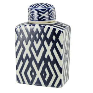 CRISS CROSS GINGER JAR Small