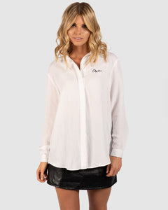 APERO- Santorini Button-Up Shirt