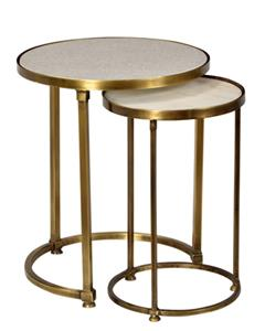 Set 2 Round Nesting Tables