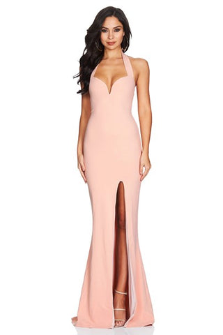 Nookie Madonna Gown- Blush