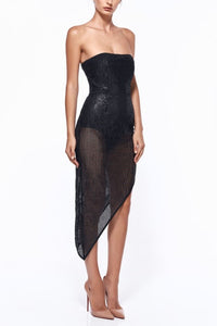 MISHA Antonella  Sequin  Dress