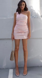 RUNAWAY- Tamika Dress- Pink