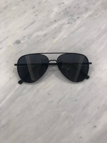 Sunglasses- Aviator- Black