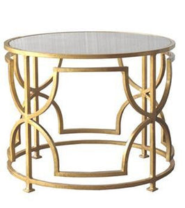 Tess Gold Leaf Cocktail Table