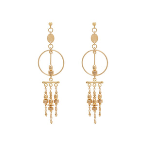 Load image into Gallery viewer, Holly Earrings Gold