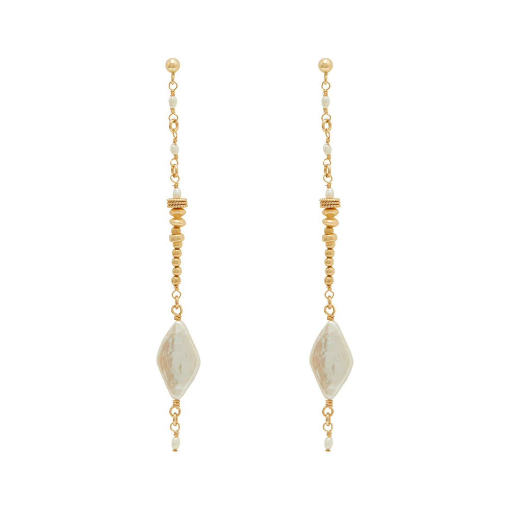Asha Earrings Gold