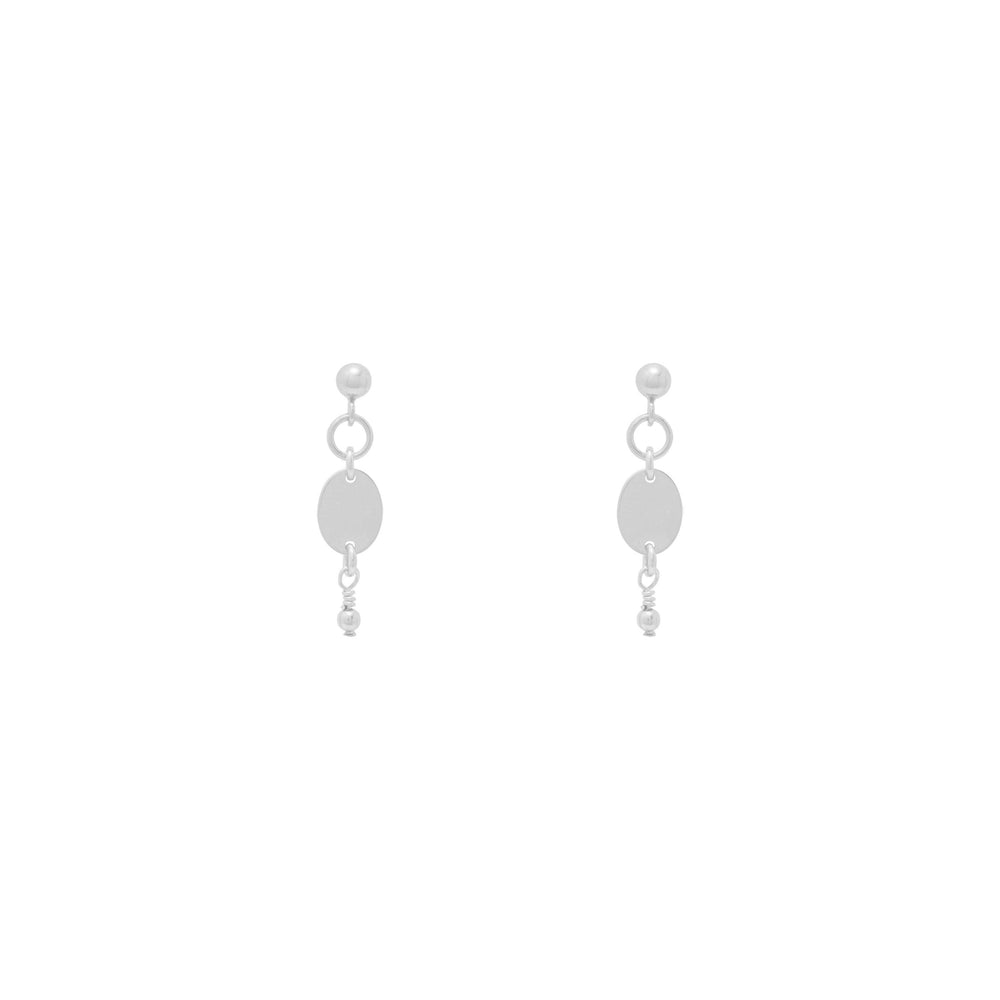 Load image into Gallery viewer, Thalia beaded Earrings Sterling silver