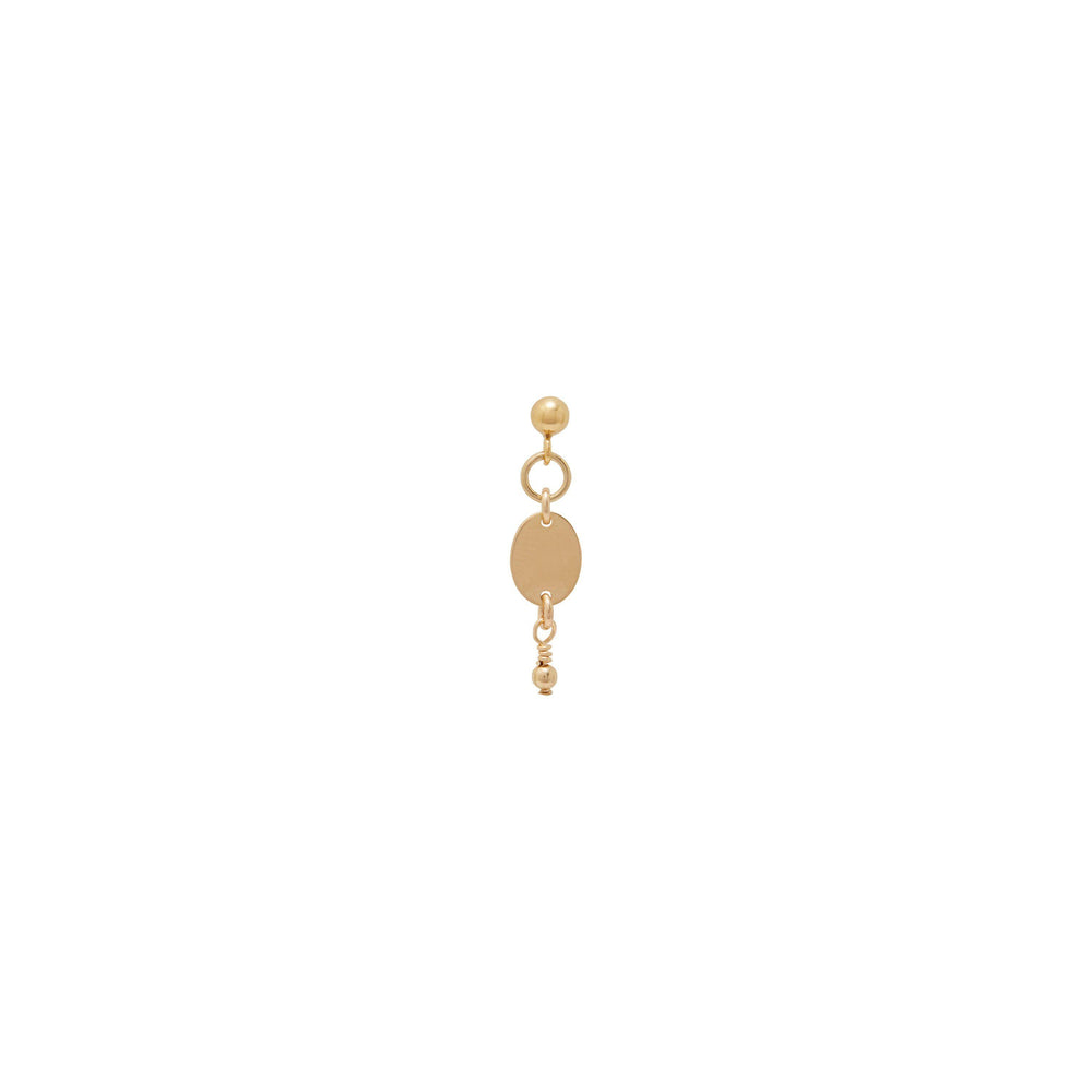 Load image into Gallery viewer, Thalia beaded Earrings Gold