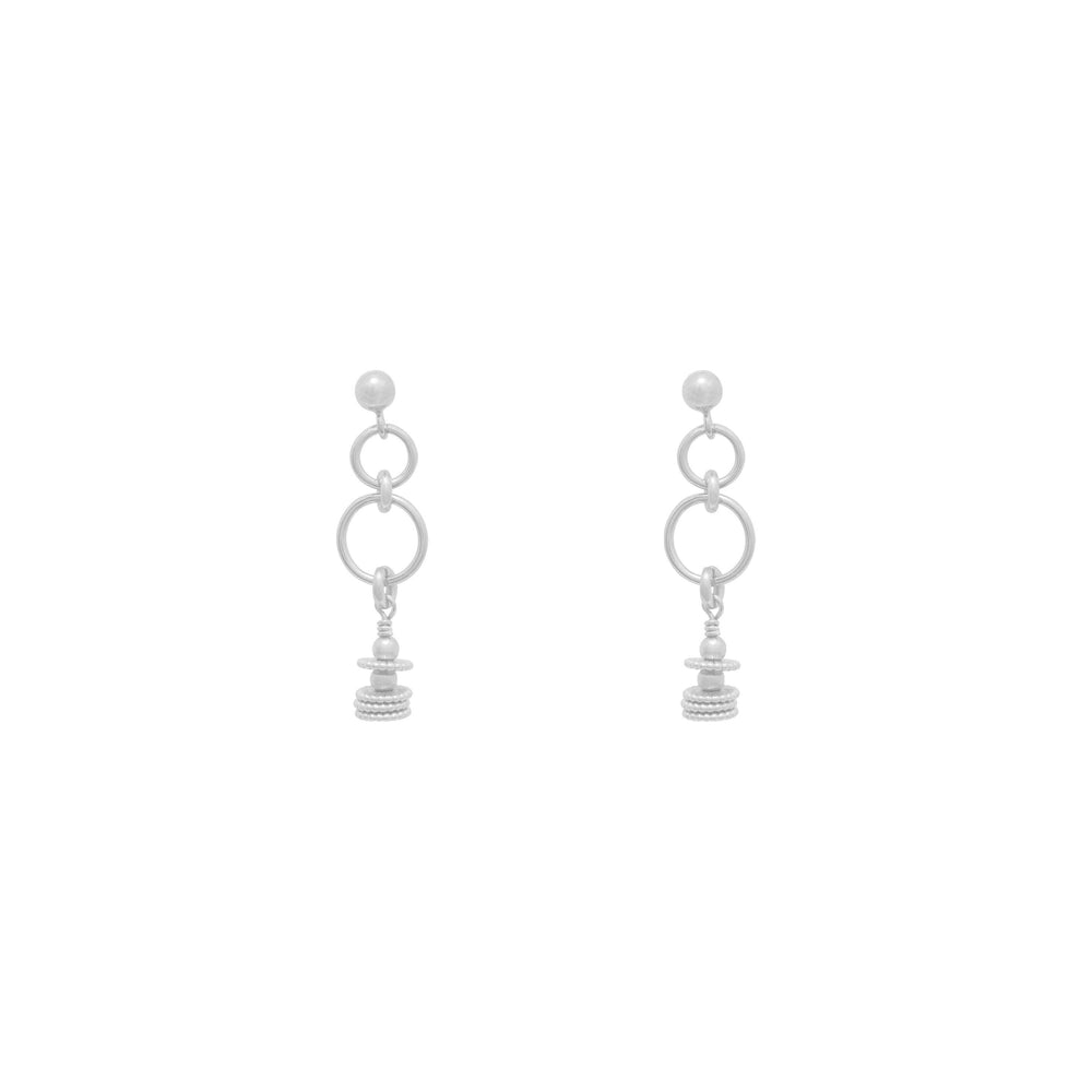 Tammy Beaded Earrings Sterling silver