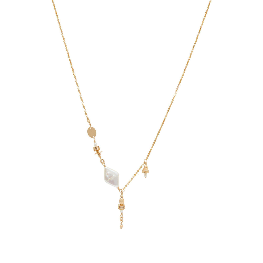 Clementine Necklace Gold