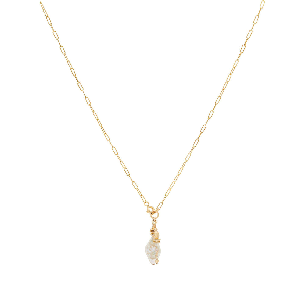 Tesia Necklace Gold