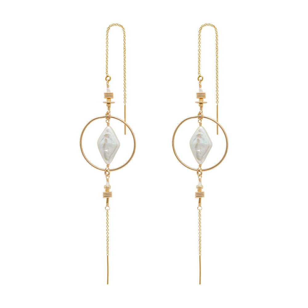 Oriane Earrings Gold