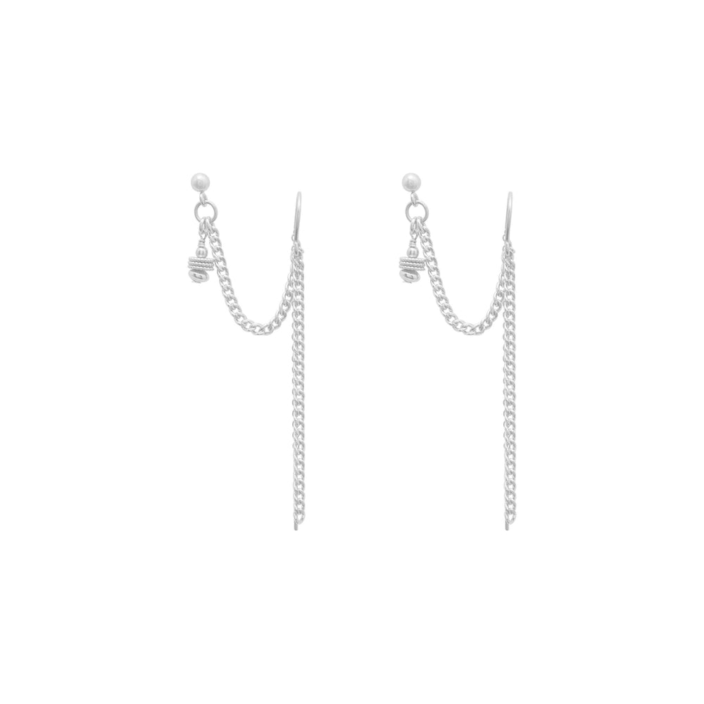 Clio Earrings Sterling silver