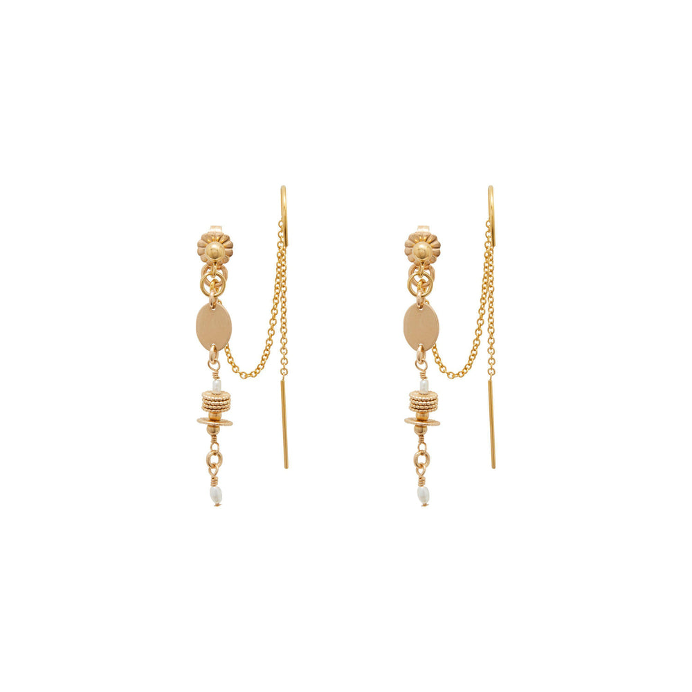 Vera Earrings Gold