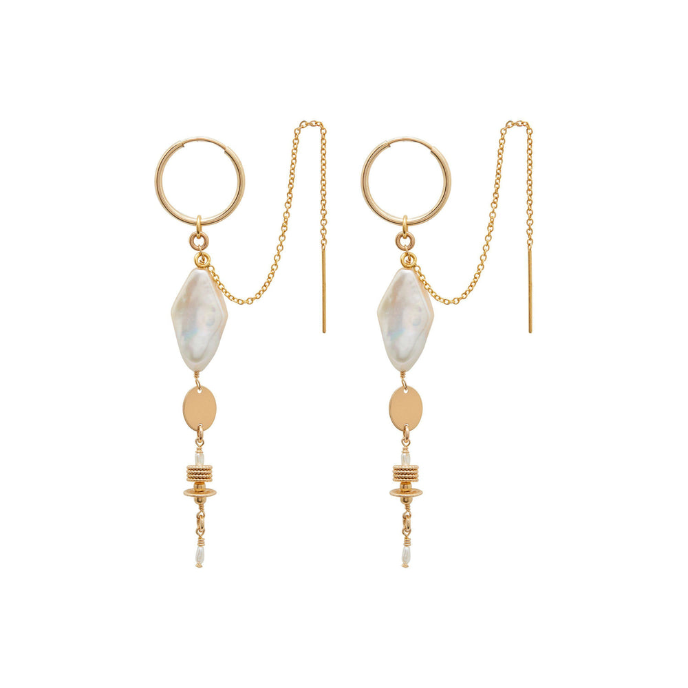 Clementine Earrings Gold