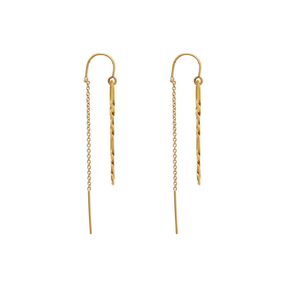 Load image into Gallery viewer, Dua Earrings Gold