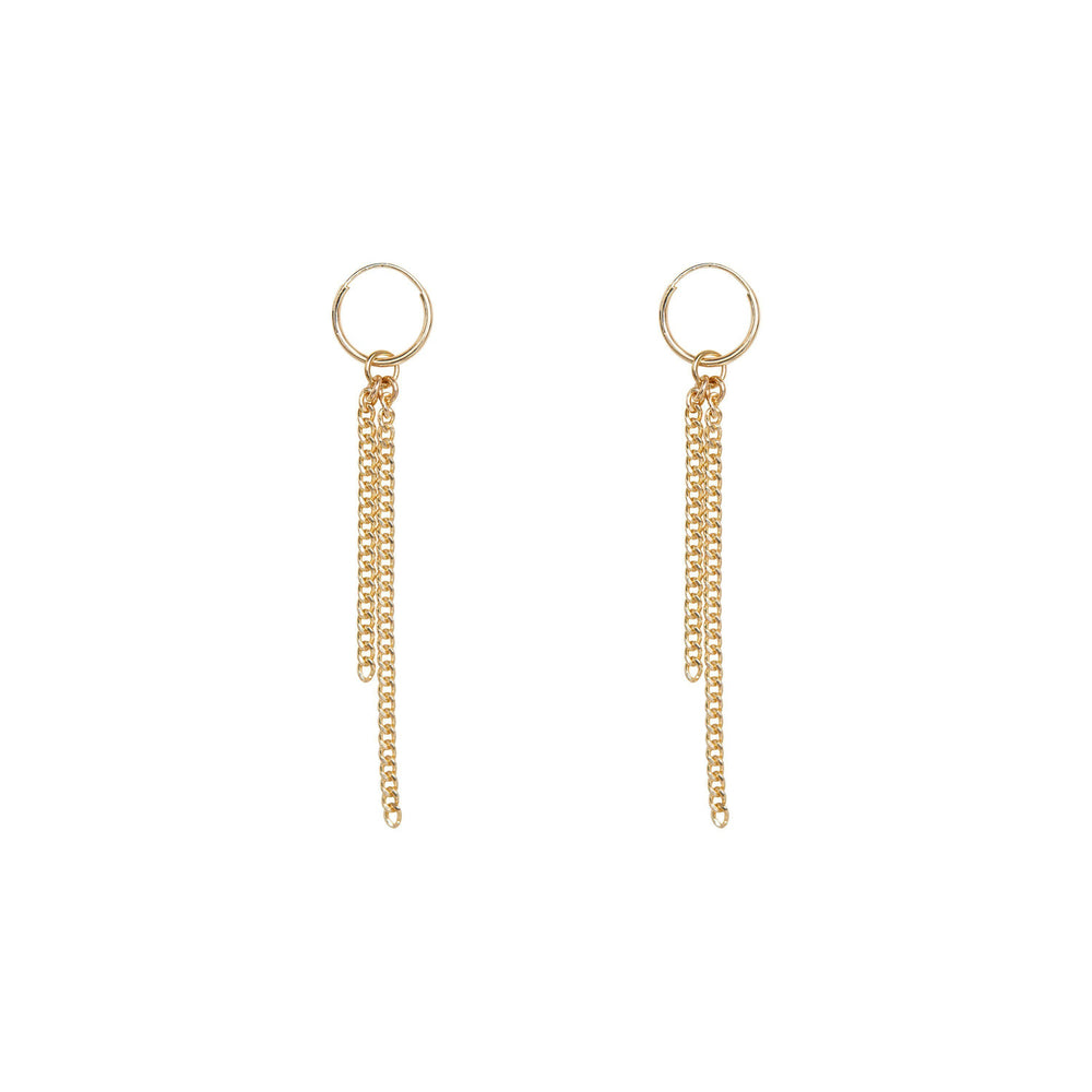 Halsey Earrings Gold