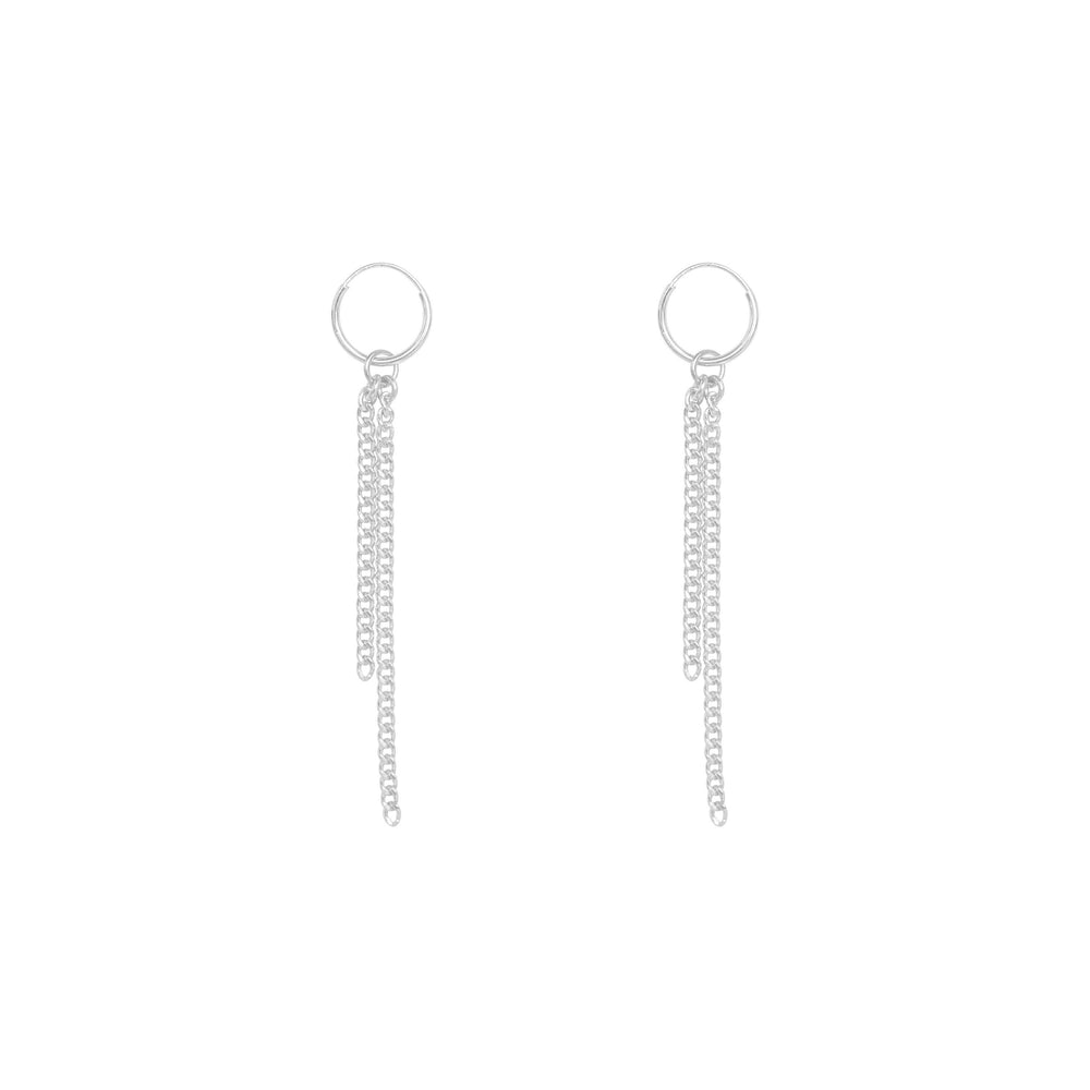 Load image into Gallery viewer, Halsey Earrings Sterling silver