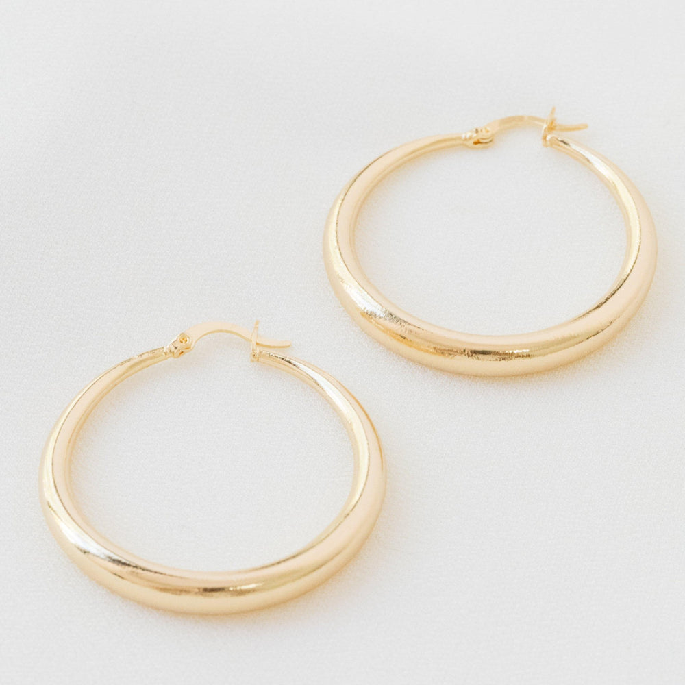 Load image into Gallery viewer, Greta Earrings Gold