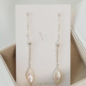 Load image into Gallery viewer, Asha Earrings Sterling silver